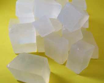 Melt & Pour Clear / Transparent Soap SLS free Chopped 475G TO 20KG