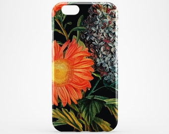 Flower iPhone 7 Case Watercolor Phone Floral iPhone 7 Plus Case iPhone 6 Cover Art iPhone 6 Plus iPhone 4-5 Case Huawei Flowers Galaxy Case