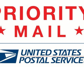 Priority Mail - 1-3 day delivery