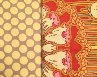 Amy Butler Half Yard Cuts from Carmine Soul Blossom Collection by Westminister