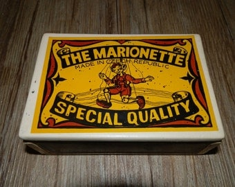 Ceramic Box with Lid - The Marionette