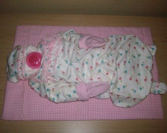 Life size Sleeping/Napping Baby Girl Shower Centerpiece or Gift