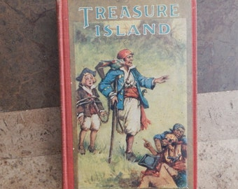 Treasure Island, Robert Louis Stevenson, Illustrated 1924