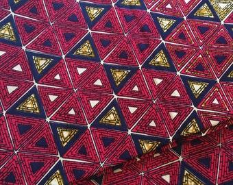 African Print Dutch Wax Fabric/ 6 Yards