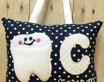 Tooth Fairy Pillow, Tooth Fairy Pillow Personalized, Tooth Fairy Pillow Boy, Tooth Fairy Door, Tooth Pillow, Personalized Tooth Pillow
