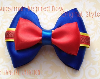 The Superman Inspired Bow