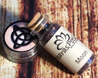 Moon Ritual Incense, Wicca Moon Goddess Selene Loose Incense, Invocation and Meditation Incense; Witchcraft Divination, Ritual & Spell tool