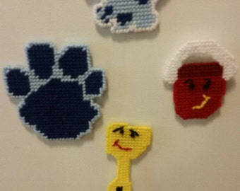 Blue's clues magnets