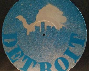 Detroit vinyl record art