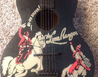 Lone Ranger guitar from the 1930's