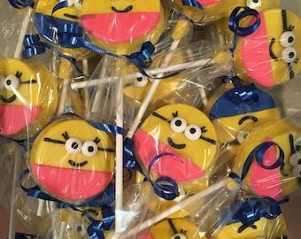 Minion Lollipops
