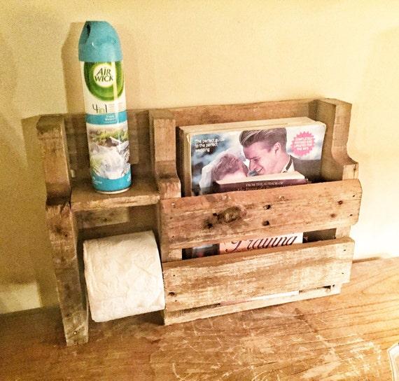 Rustic Toilet Paper Holder Rustic Wood By Sandjbargainvault