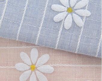 Daisy fabric Etsy