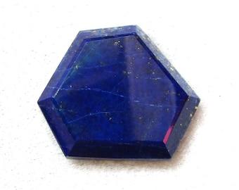 26.5x28.5x5 mm Natural LAPIS LAZULI Fancy Shape cabochon AAA Quality gemstone.....