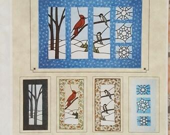 Subtle Endeavors Winter Time #305 Quilt Panels