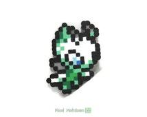 Celebi  Legendary Time Travel Pokemon Pixel Art