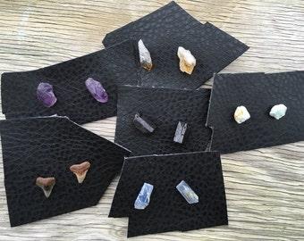 Crystal Earrings, Crystal Studs