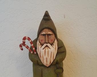 Tiny Grumpy Belsnickel Santa