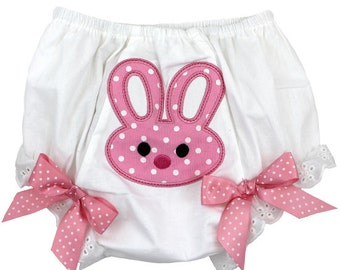 Bunny Bloomers Diaper Cover