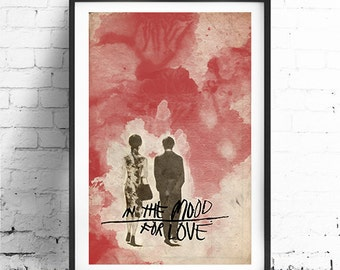 """IN the Mood for LOVE, Minimalist Movie Poster Print 13 x 19"""""""
