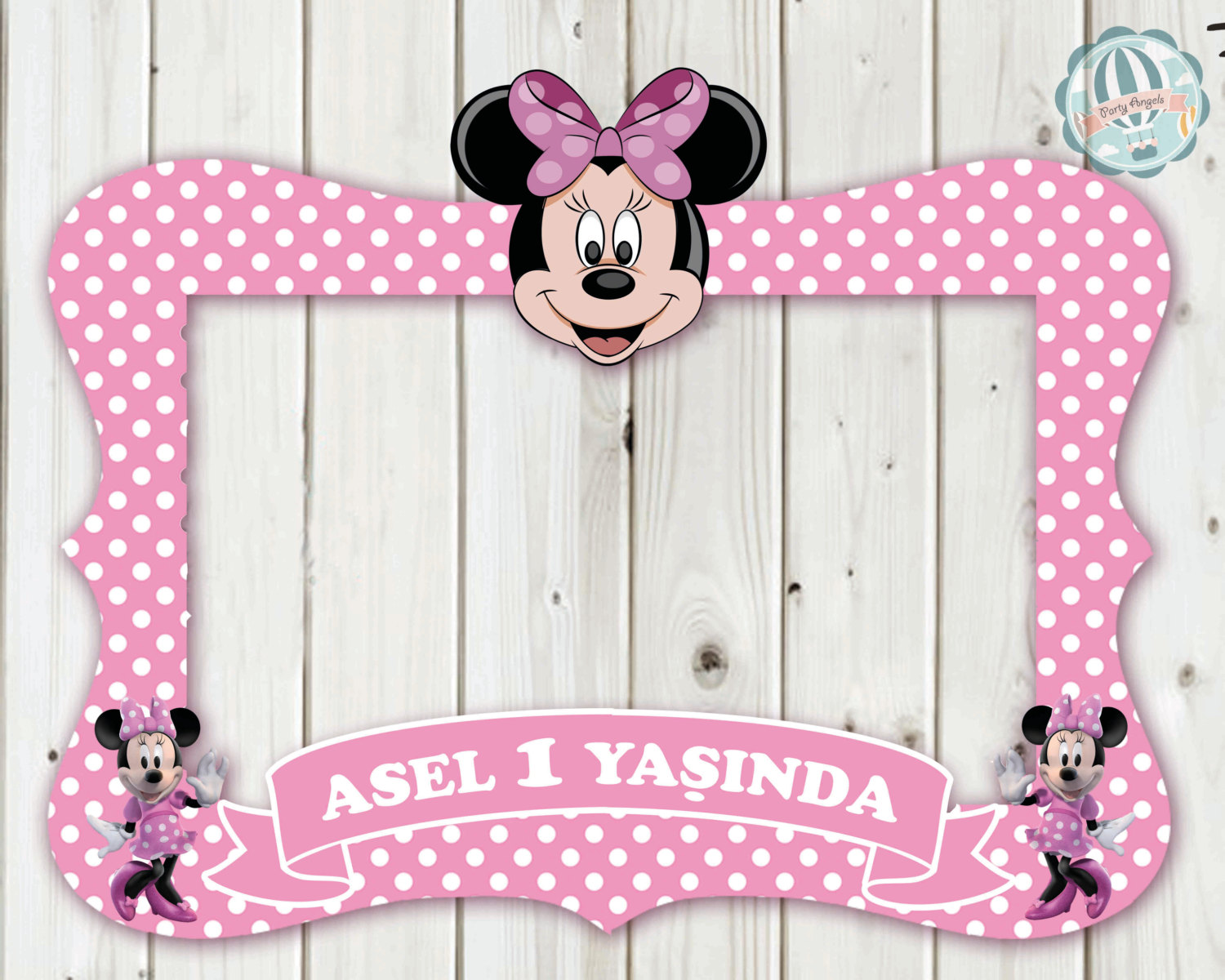 minnie mouse mickey mouse daisy duck frame photo booth. Black Bedroom Furniture Sets. Home Design Ideas