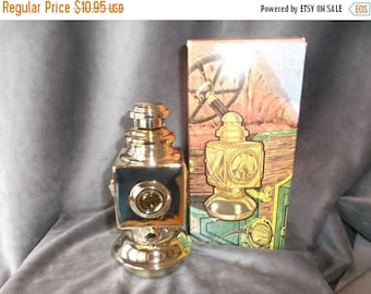 Summer Sale 25% Vintage Avon Auto lantern full of Deep Woods after shave and talc