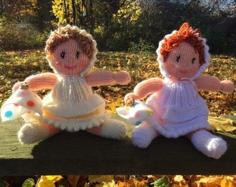 Hand Knit baby dolls
