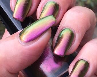 Prime Suspect   multichrome nail polish