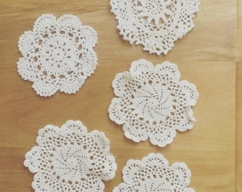 Lovely white crochet