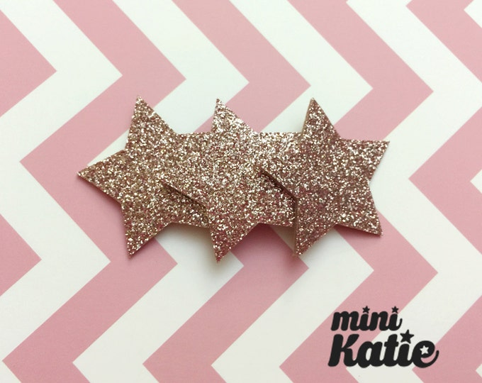 mini Katie Gentle Triple Star Hair Barrette, Hair Clip for girls baby Toddlers Infants