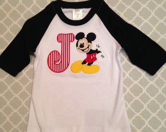 Mickey Initial Shirt