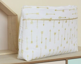 Great make-up bag baby, child or adult, Collection Arrows