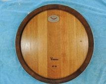 Lazy Susan Complete Wine Barrel Top Single Rung
