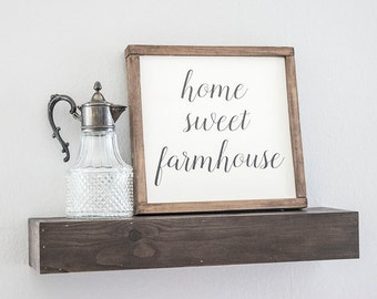 Farmhouse Decor,Home Sweet Farmhouse Sign, Farmhouse Christmas Gifts, Farmhouse Sign, Rustic Decor, Home Sweet Home, Fixer Upper Style