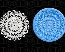 Fondant Lace Mold Silicone Lace Mat FDA Fondant Mold Emboridery Fondant Mold Cupcake Lace Mold