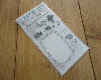 "Clear stamps ""Poetry"""