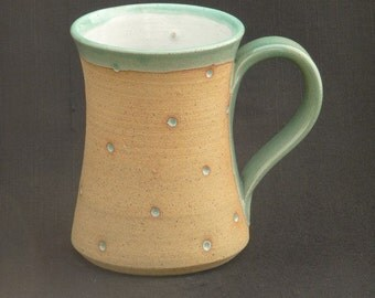 Hand Thrown Stoneware Dotty Mug