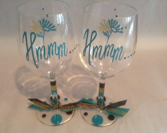Custom Mary Kay Wine Glass Mary Kay By Gamedaytailgating