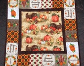 Harvest Blessings mini quilted table topper