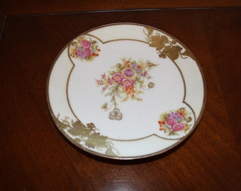 Gilded small plates - Prov Saxe ES Germany