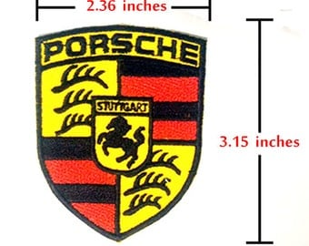 Porsche Sports Car Motorsport Car Racing Embroidered iron-on/sew-on patch