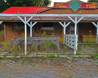 Abandoned Country Store