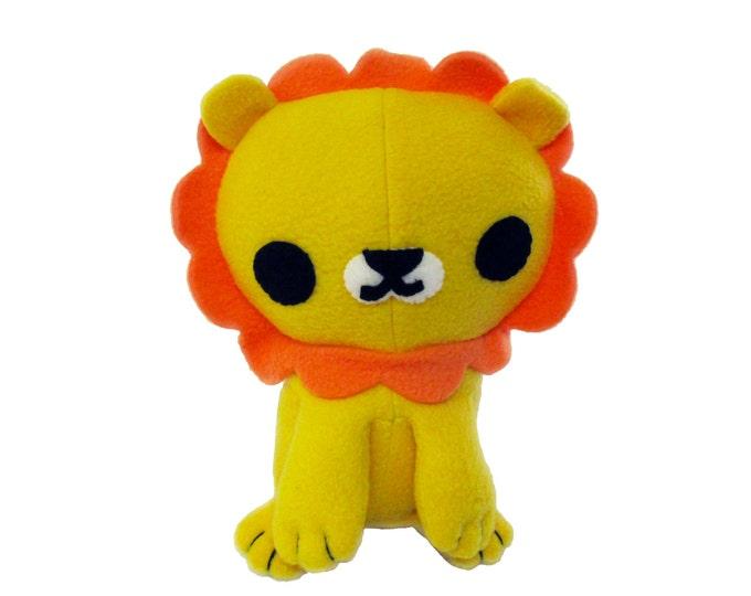 Lion Plush Animal Sewing Pattern