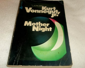 MOTHER NIGHT Kurt Vonnegut Jr. Trade Paperback Book 1966 Slaughterhouse Five Author