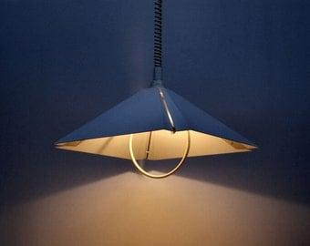 Deep design-lamp white-metal