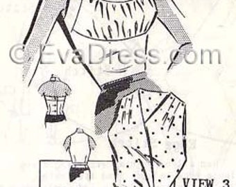 1950's Halter Tops EvaDress Pattern