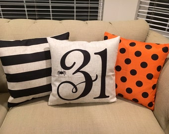 31st Pillow- Halloween pillow cover