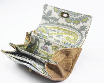 Women's Vegan Wallet - Gift for Her - Women's Travel Wallet - Phone Clutch Wallet - Vegan Leather Wallet - Unique Women's Wallet