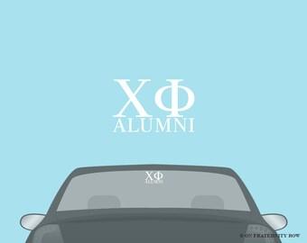 Chi Phi Fraternity Alumni Decal Sticker
