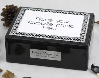 Personalised Photo Keepsake Box